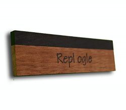 Replogle Reso REP-SKF1B Resonator Saddles – Full Koa/Ebony Capped Blank