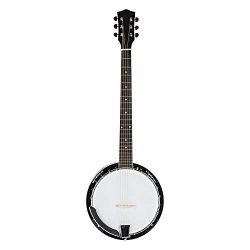 Top Grade Exquisite Professional Sapelli Notopleura Wood Alloy 6-string Banjo New