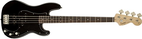 Squier by Fender Affinity Series Precision Beginnger Electric Bass – PJ – Black