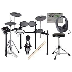 Yamaha DTX532K Electronic Drum Set w/Kick Pad and Hi-Hat Stand, Headphones, Thro