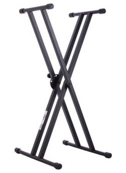 World Tour Double X Keyboard Stand