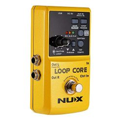Asmuse Nux Loop Core Guitar Looper Effect Pedal Recording 6 Hours 99 User Memories Drum Patterns ...