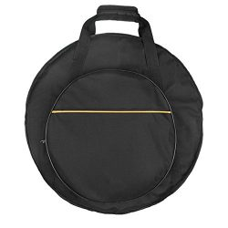 Tosnail 22″ Cymbal Gig Bag with 10mm Padding and Shoulder Straps