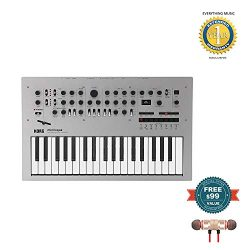 Korg Minilogue 4-Voice Polyphonic Analog Synthesizer includes Free Wireless Earbuds – Ster ...