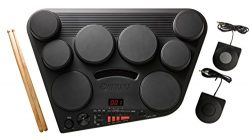 Yamaha DD75 Portable Digital Drums with 2 Pedals and Drumsticks – Power Adapter sold separ ...