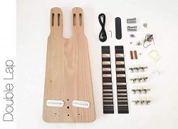 DIY Electric Guitar Kit – Double Neck Lap Steel Build Your Own