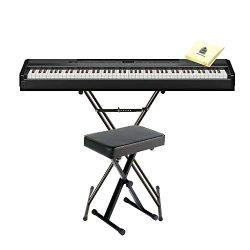 Yamaha P515B 88 Keys Weighted Action Concert Grand Digital Piano with Smart Pianist app for iOS  ...