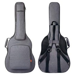 CAHAYA Guitar Bag [Reinforced Version] Guitar Case 0.8 Inch Overly Thick Sponge Padded Extra Pro ...