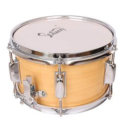Ryokozashi Stage Custom 10 x 6″ Snare Drum, Student Marching Snare Drum Kids Percussion Ki ...