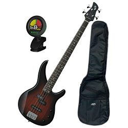 Yamaha TRBX174 OVS TRBX-174 Old Violin Sunburst 4 String Bass Guitar w/Gig Bag