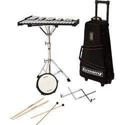 Ludwig M651R Educational Bell Kit w/Rolling Bag