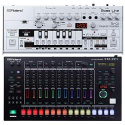 Roland TB-03 Bassline Synth with Roland TR-8S Drum Machine