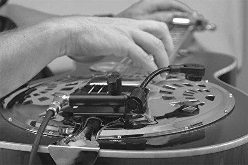 Resonator Guitar Microphone System (Condenser)