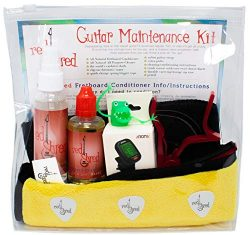 Guitar All-in-One Accessories Starter Kit | Fretboard Oil Conditioner, All-Purpose Cleaner, Plus ...