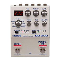 Boss DD-200 Digital Delay 200 Series Effects Pedal