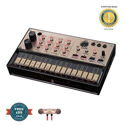 Korg Volca Keys Analog Loop Synthesizer includes Free Wireless Earbuds – Stereo Bluetooth  ...