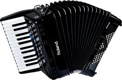Roland V-Accordion Lite with 26 Piano Keys and Speakers, black (FR-1X-BK)