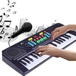 Piano Keyboard for Kids 37 Keys Multifunction Electronic Digital Kids Midi Piano Keyboard Musial ...