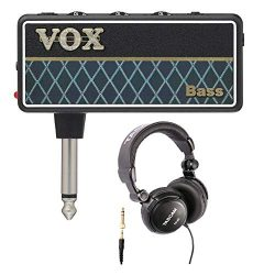 VOX AP2BS amPlug 2 Bass Headphone Amplifier with Over-Ear Headphones