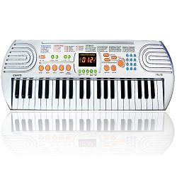 FillADream 44 Keys Kids Piano, Multifunctional Dual Speakers Portable Electronic Standard Size K ...