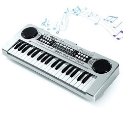 FillADream Kids Piano, 37 Keys Multi-Function Electronic Organ Musical Kids Piano Teaching Keybo ...