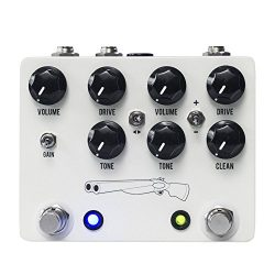 JHS Double Barrel V4 Dual Overdrive Guitar Effects Pedal