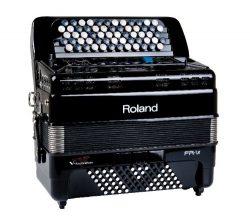 Roland V-Accordion Lite 62 Buttons and Speakers, black (FR-1XB-BK)