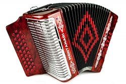 Montanari 3112 G Acordeon FA Rojo Accordion FBE