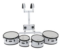 BASIX F893210 Marching Quad Tom Set, 8 x 8/10 x 8/12 x 8/13 x 8-Inch