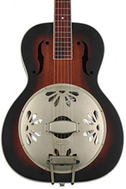 Gretsch G9241 Alligator Mahogany Round Neck Acoustic Electric Resonator – 2-Color Sunburst ...