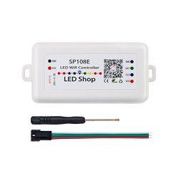 BTF-LIGHITNG WS2812B WiFi SP108E Controller Support WS2811 WS2815 WS2801 SK6812 WS2813 SK9822 AP ...