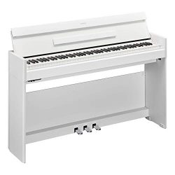 Yamaha YDPS54WH Arius Series Slim Digital Console Piano, Satin White