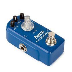AZOR AP-308 Classical Overdrive Guitar Effect Pedal True Bypass Blue