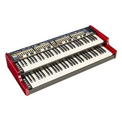 Nord C2D 61-key Dual Manual Combo Organ 2 Sets of Physical Drawbars