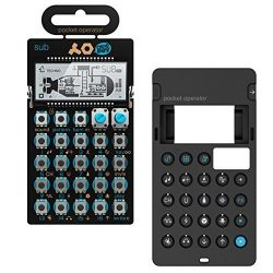 Teenage Engineering PO-14 Pocket Operator Sub Bass Synthesizer with Integrated Stand Mount Bundl ...