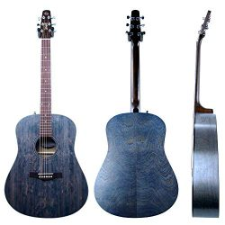 Seagull S6 Original Acoustic Guitar Limited Edition Faded Blue with Bag