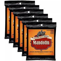 GHS Americana Series Mandolin Strings Medium 11-40 (6 Pack Bundle)