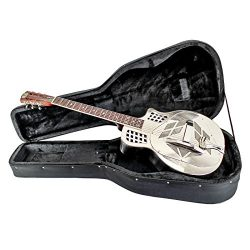 Imperial Royall Trifecta Engraved Tricone Cutaway Brass Body Resonator Guitar