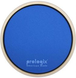 ProLogix 10″ Blue Lightning Heavy Resistance Practice Pad With Rim