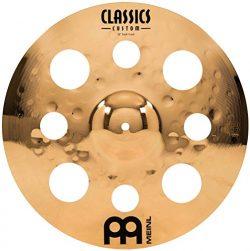 Meinl 16″ Trash Crash Cymbal with Holes  –  Classics Custom Brilliant – Made i ...