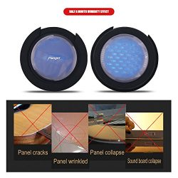 Guitar Soundhole Cover Humidifier 2Pcs 3 In 1 Acoustic Guitar Sound Cover Humidifier Dryer Maint ...