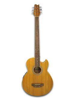 6 String Acoustic Electric Cutaway Bass Guitar