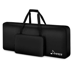 Donner 61 Key Keyboard Case Bag, Electric Piano Padded Case Gig Bag 40″x16″x6″ ...
