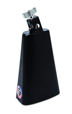 Latin Percussion LP007-N 8-Inch Rock Cowbell with Self-Aligning 1/2-Inch Mount