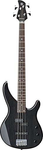 Yamaha 4 String Bass Guitar, Right Handed, Translucent Black, 4-String (TRBX174EW TBL)