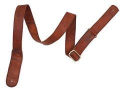 WerKens Genuine Leather Adjustable Mandolin,Ukulele Strap Belt, Soft Feel Comfortable Grip Slim  ...