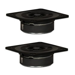 Goldwood Sound, Inc. Sound Module, Titanium Dome Tweeters 120 Watt each 8ohm Replacement Square  ...