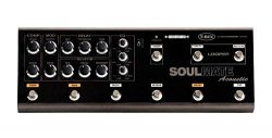 T-Rex Engineering SOULMATE-ACOUSTIC Guitar Multi Effects Pedal with Compression, Modulation, Del ...