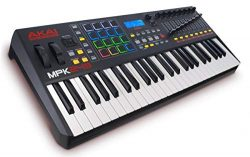 Akai Professional MPK249 | 49-Key Semi-Weighted USB MIDI Keyboard Controller Including Core Cont ...
