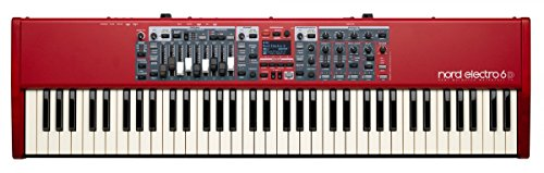 Nord Electro 6D 73 Stage Piano, 73-Note Semi-Weighted Waterfall Keybed